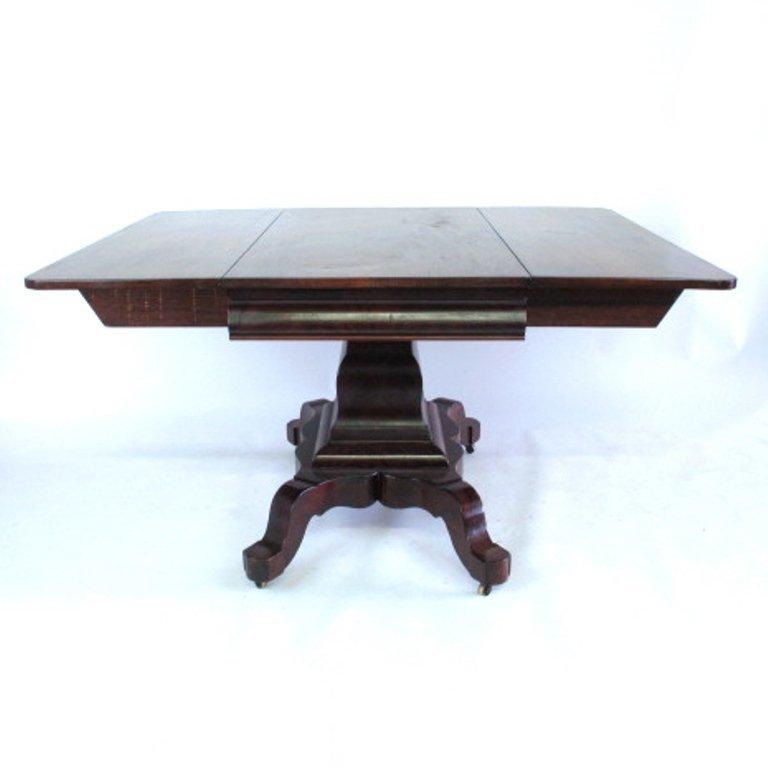 Mahogany Drop Leaf  Empire Table - 2