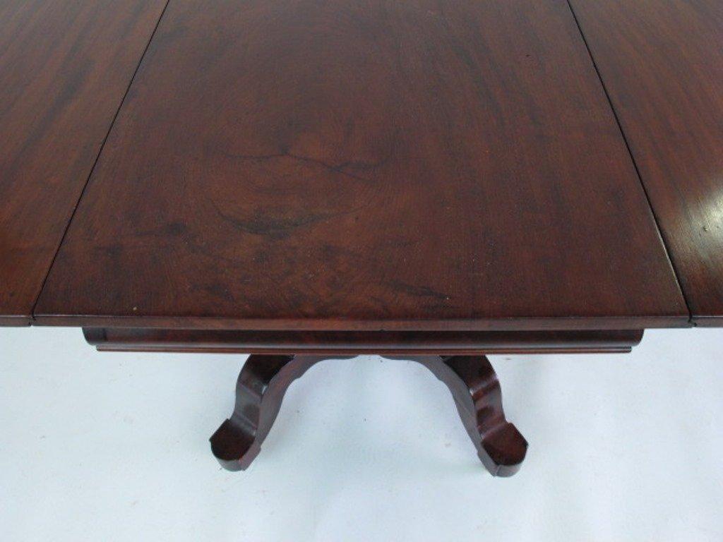 Mahogany Drop Leaf  Empire Table - 3