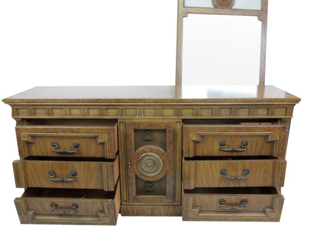 Mid Century Dresser with Mirror - 2