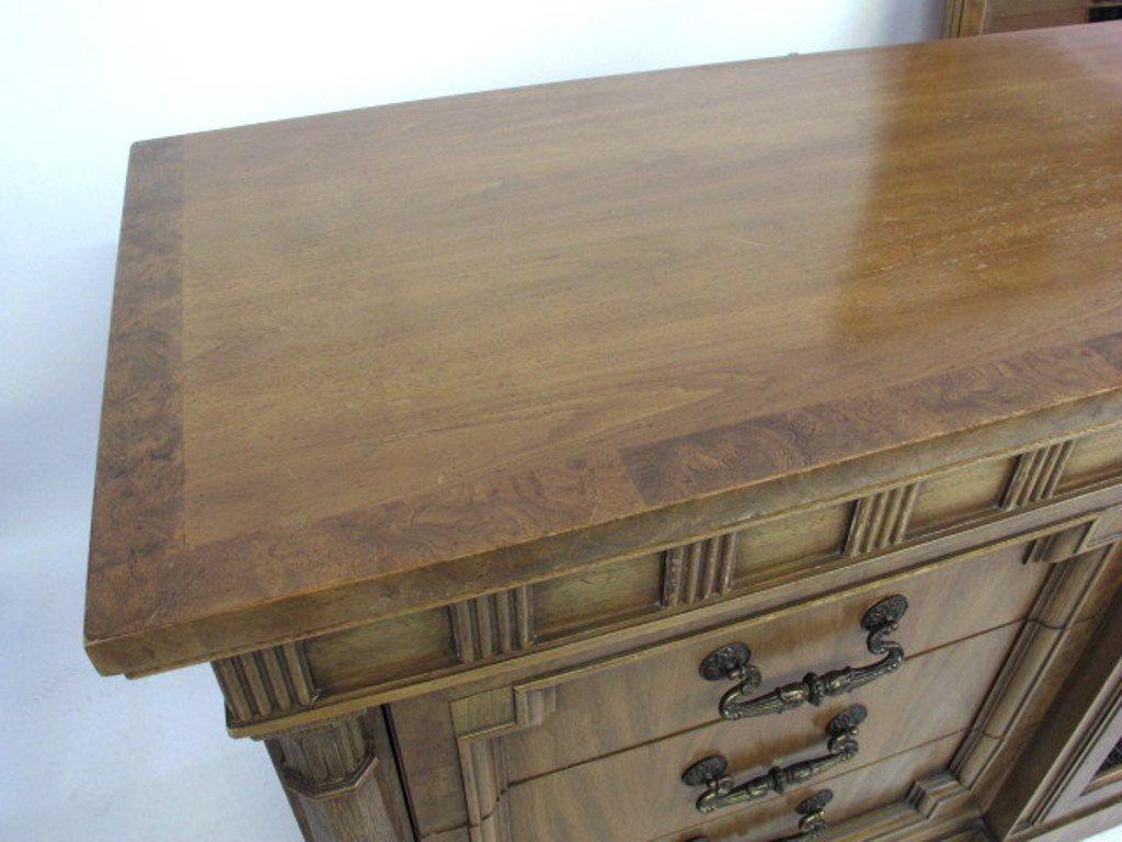Mid Century Dresser with Mirror - 3