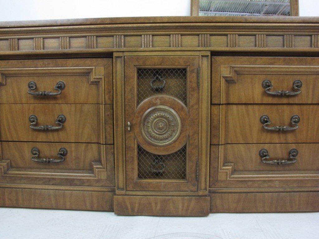 Mid Century Dresser with Mirror - 4