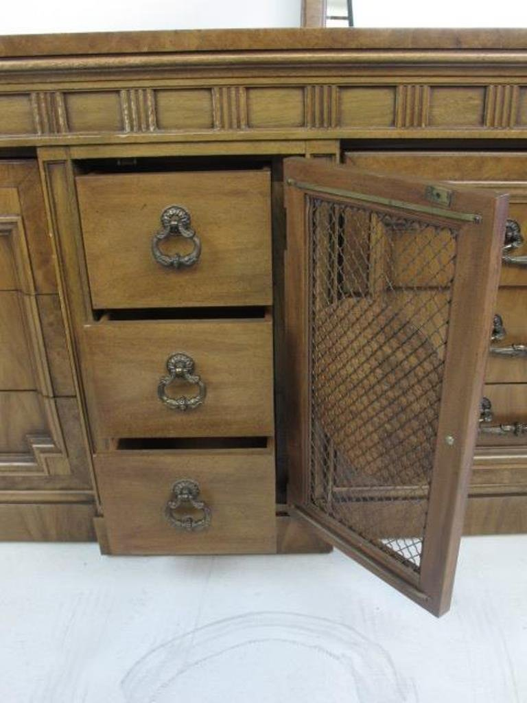 Mid Century Dresser with Mirror - 9