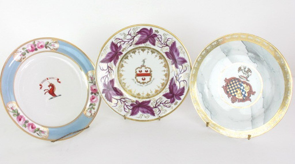 Group of Seven Fine China Plates - 2