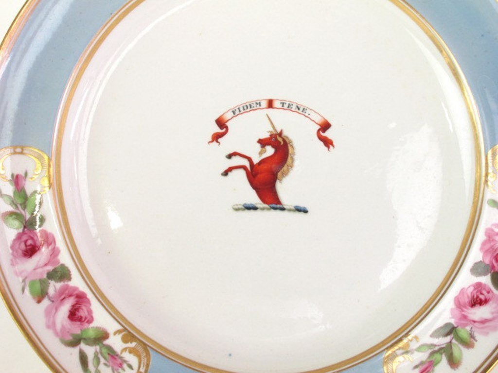 Group of Seven Fine China Plates - 3