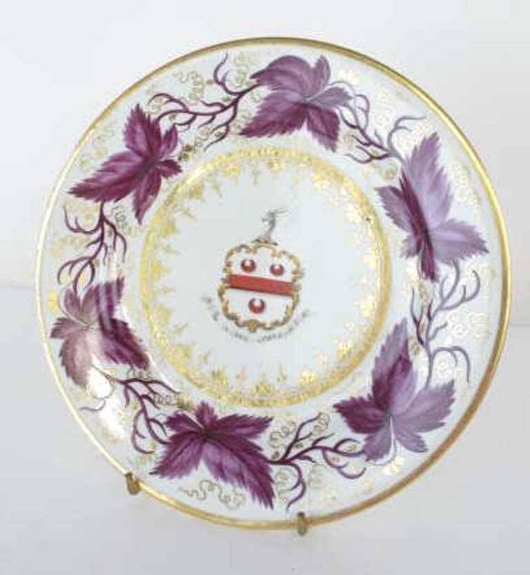 Group of Seven Fine China Plates - 5