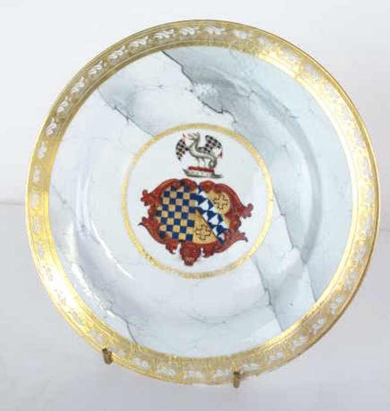 Group of Seven Fine China Plates - 8