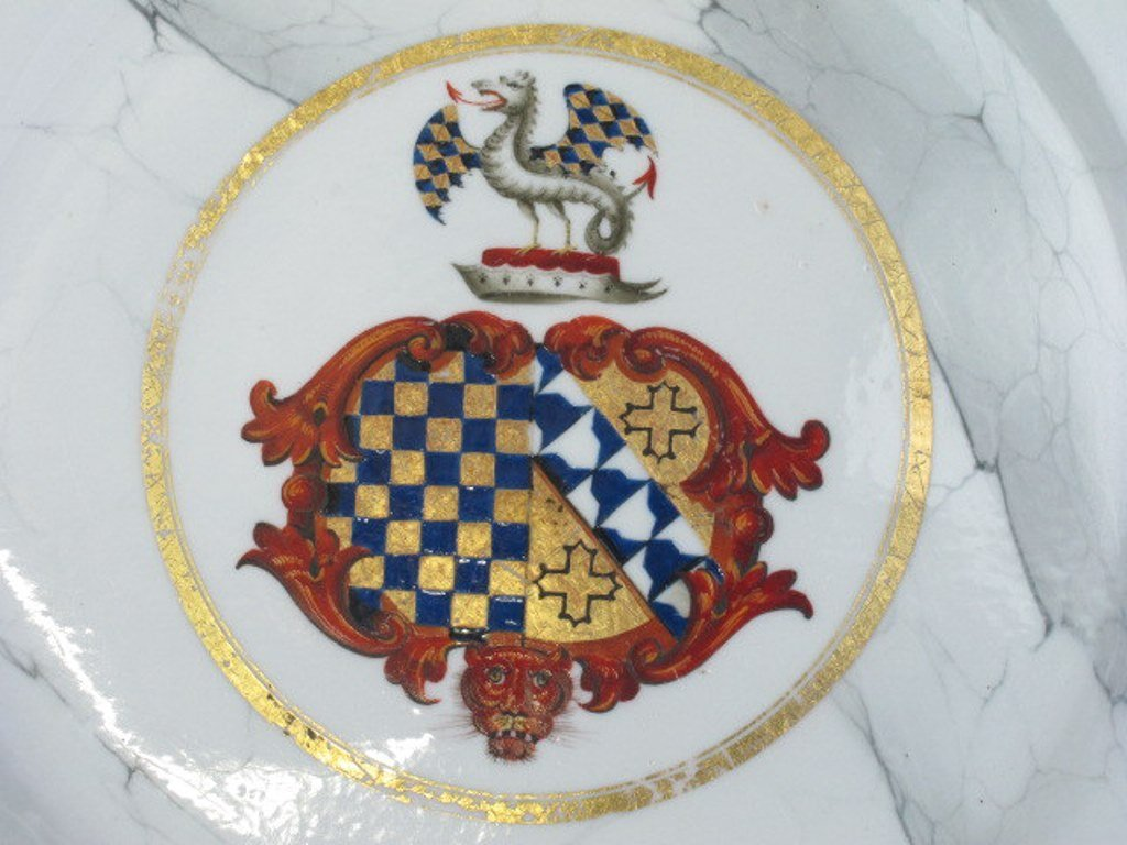 Group of Seven Fine China Plates - 9