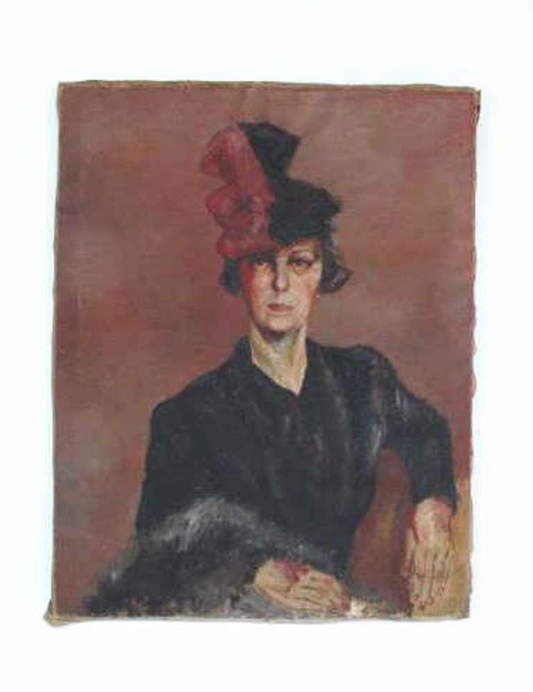 Original Oil on Canvas Portrait
