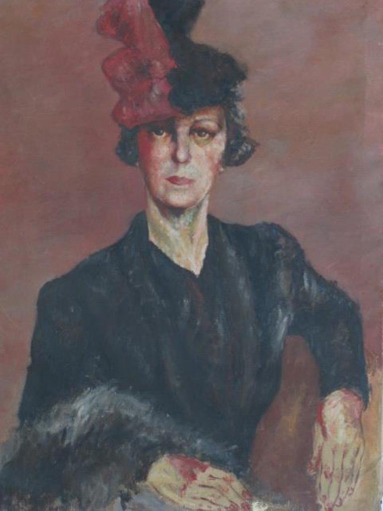 Original Oil on Canvas Portrait - 2
