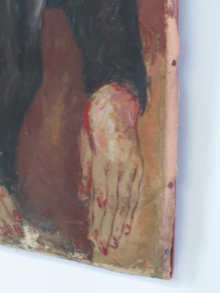 Original Oil on Canvas Portrait - 5