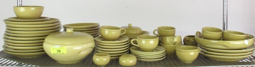Iroquois Casual China Russel Wright Group Mustard