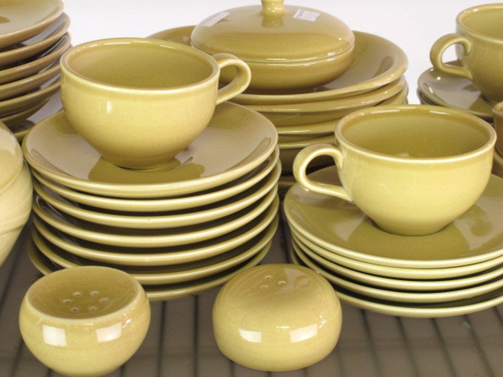 Iroquois Casual China Russel Wright Group Mustard - 4
