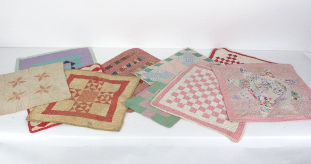 Group of  10 Vintage Quilts