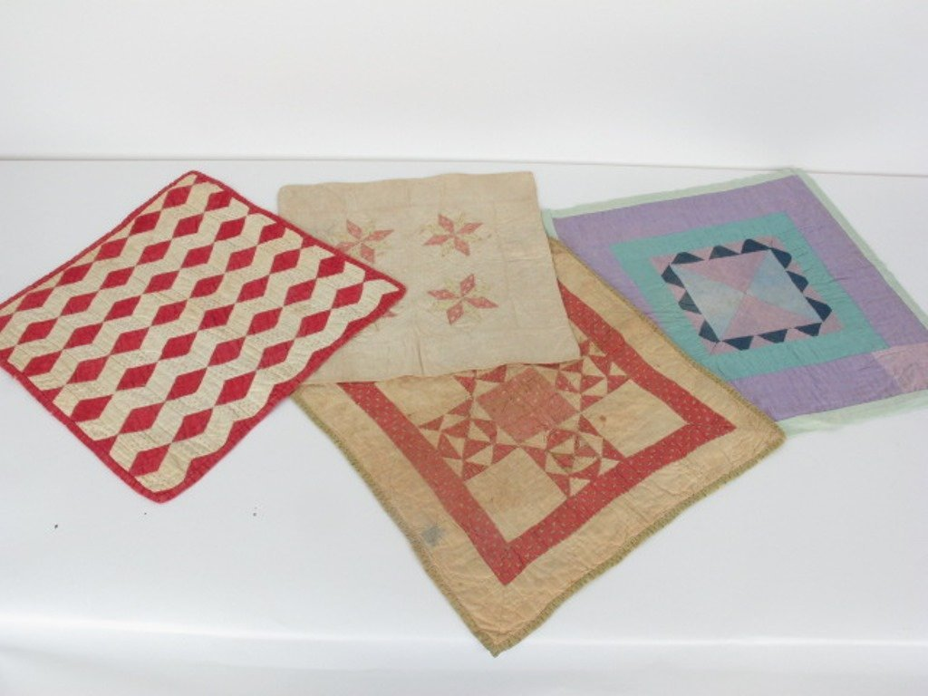 Group of  10 Vintage Quilts - 2