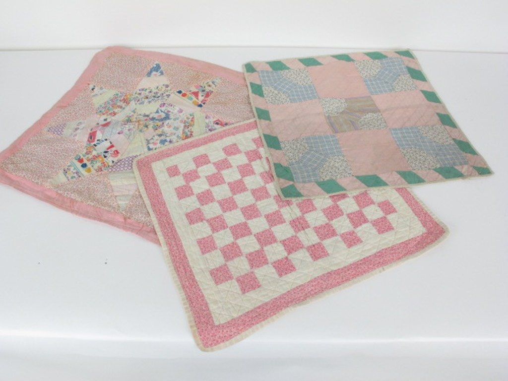 Group of  10 Vintage Quilts - 3