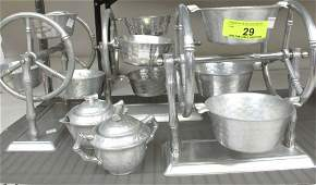 Group 5 Everlast Aluminum Serving Items