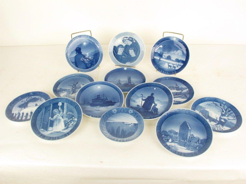 Group 13 Royal Copenhagen Collectible Plates