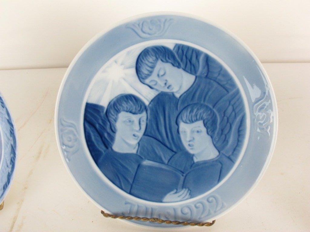 Group 13 Royal Copenhagen Collectible Plates - 4