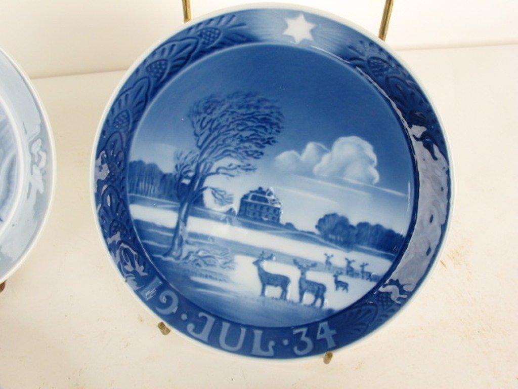 Group 13 Royal Copenhagen Collectible Plates - 5