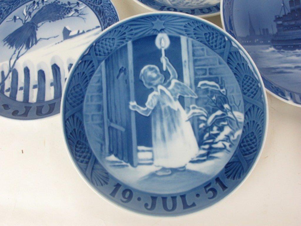 Group 13 Royal Copenhagen Collectible Plates - 6