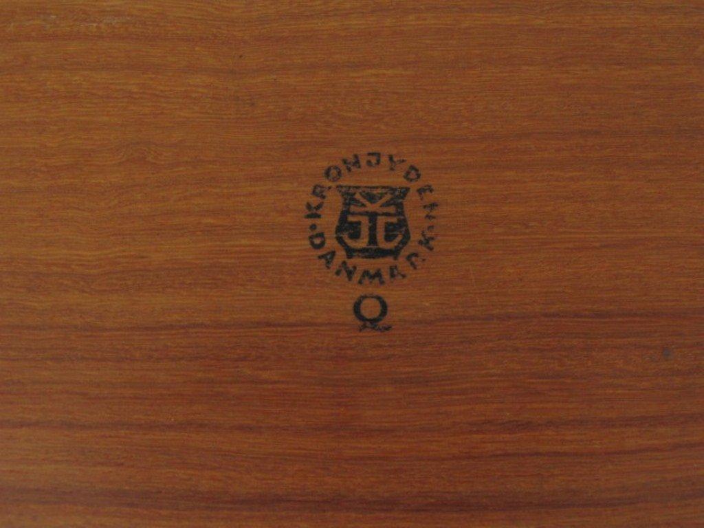 Group of Ten Danish Teak Wood Trays - 10