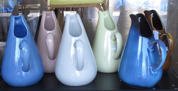 Group of Six Russell Wright Pitchers