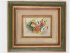 Dorothy Spangler Painting on Artist Board