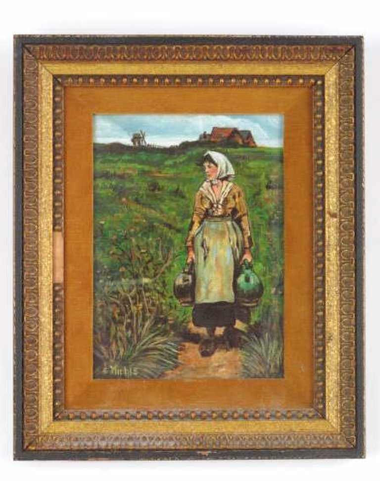 E Miehle (California) Oil Artist Panel