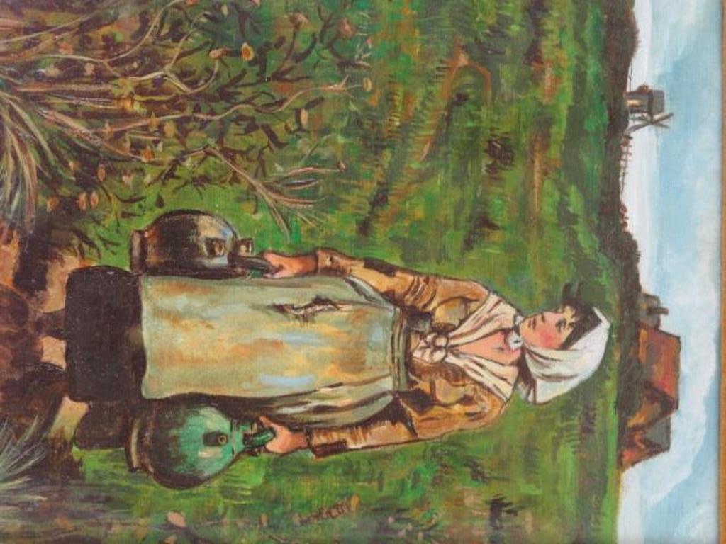 E Miehle (California) Oil Artist Panel - 2
