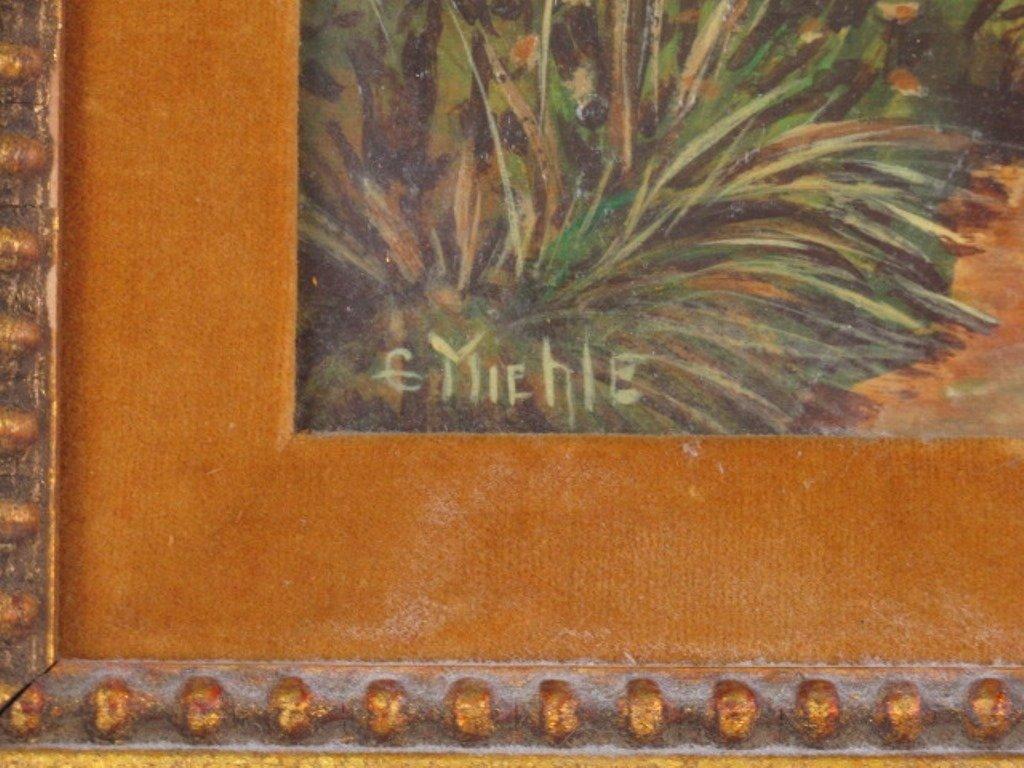 E Miehle (California) Oil Artist Panel - 3