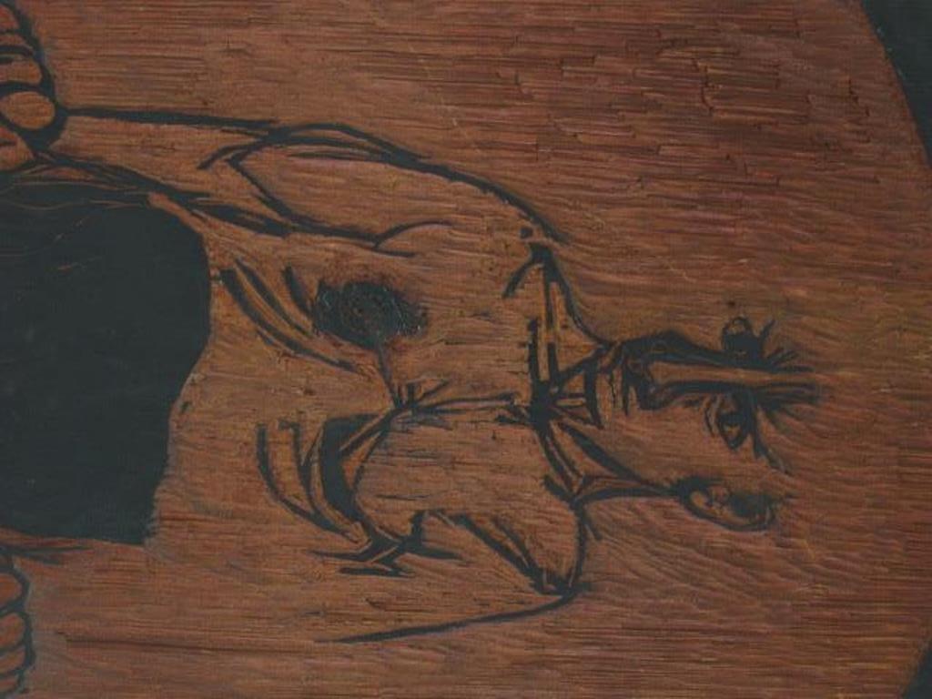 Carved Woodblock Print Stamp - 2