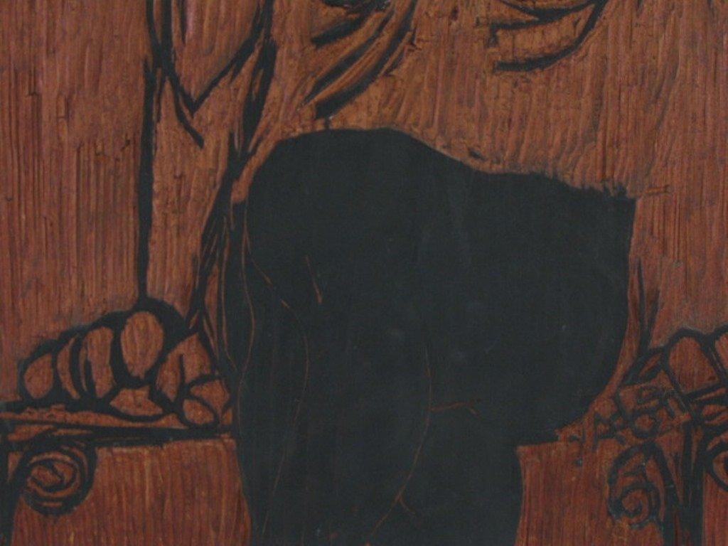 Carved Woodblock Print Stamp - 3