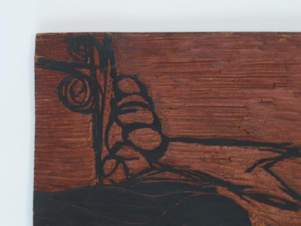 Carved Woodblock Print Stamp - 4