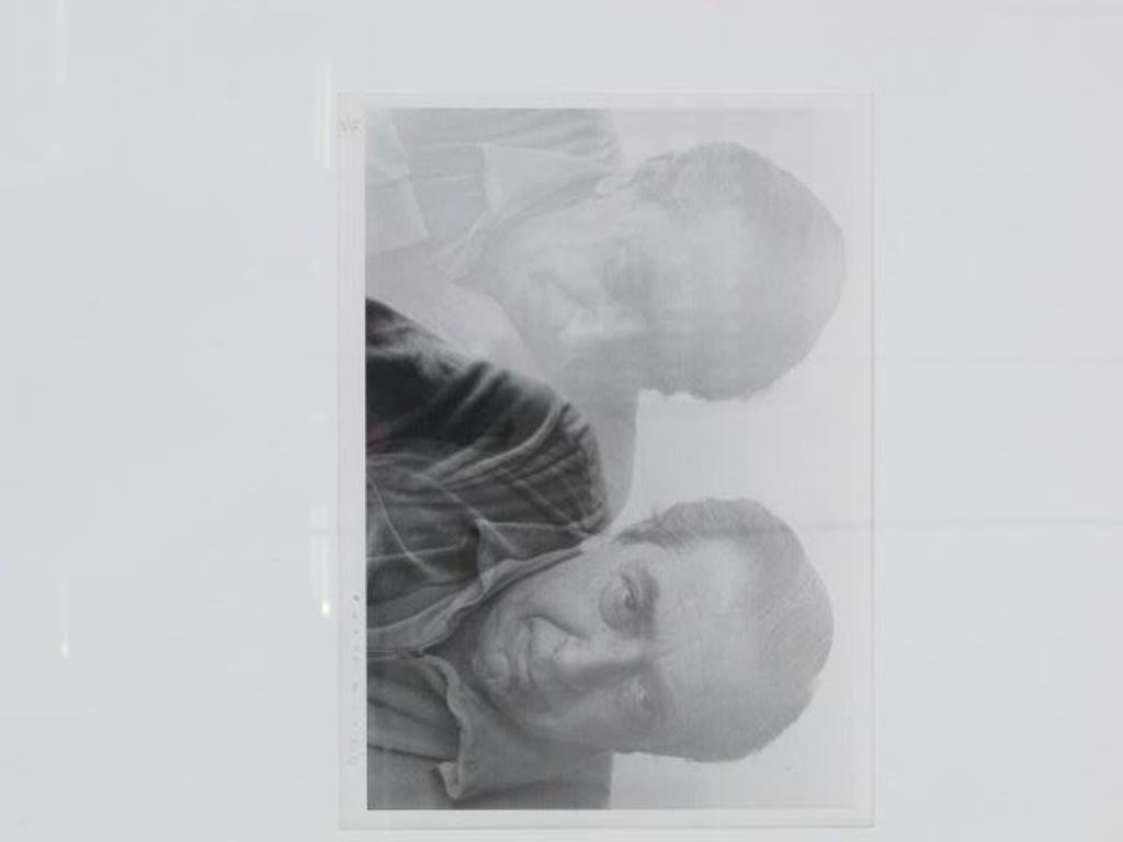 Black and White Photograph of Man - 2