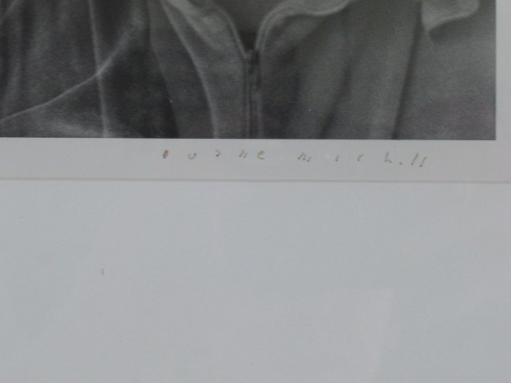 Black and White Photograph of Man - 6