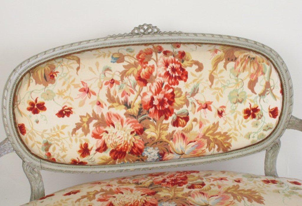 Four Piece Floral Parlor Set - 3
