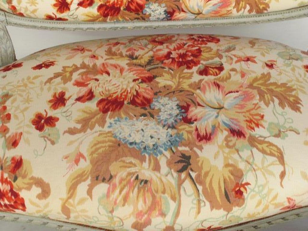 Four Piece Floral Parlor Set - 4