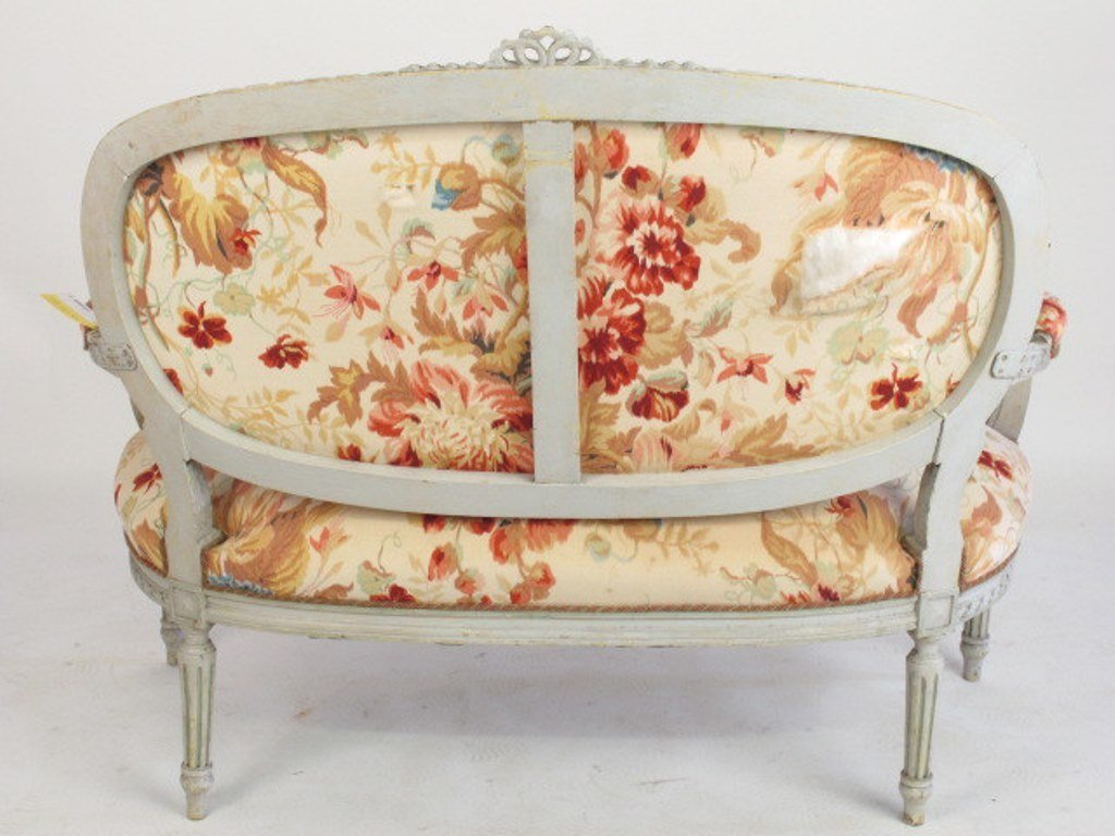 Four Piece Floral Parlor Set - 5