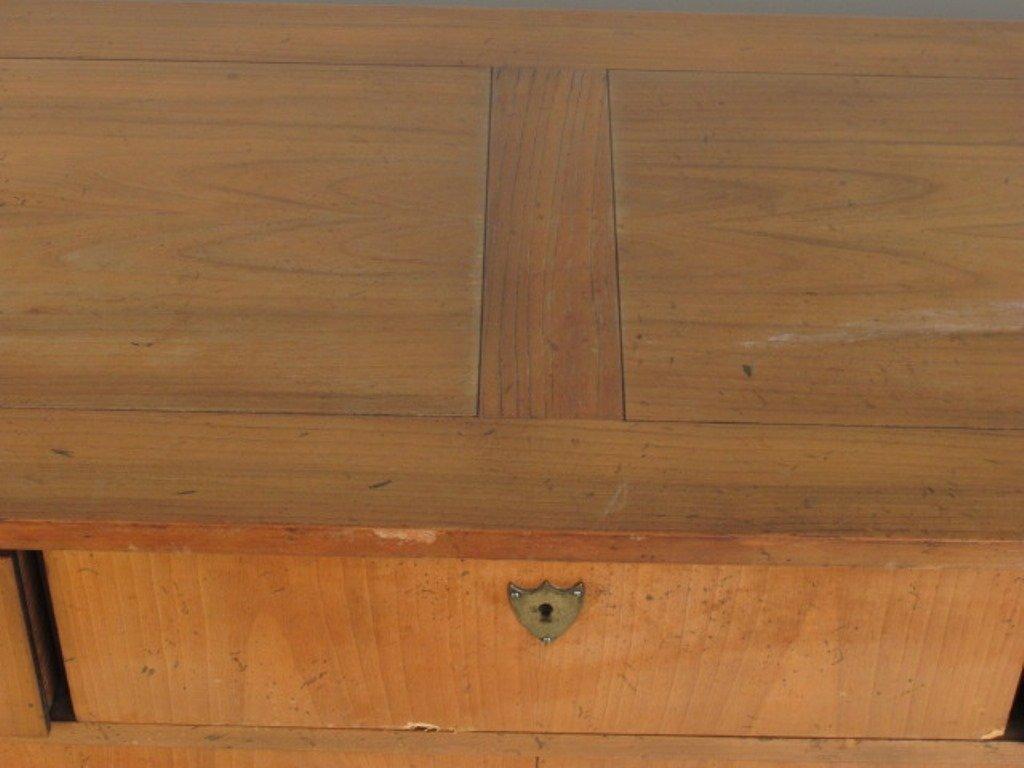 Empire Style Satin Mahogany Dresser - 4