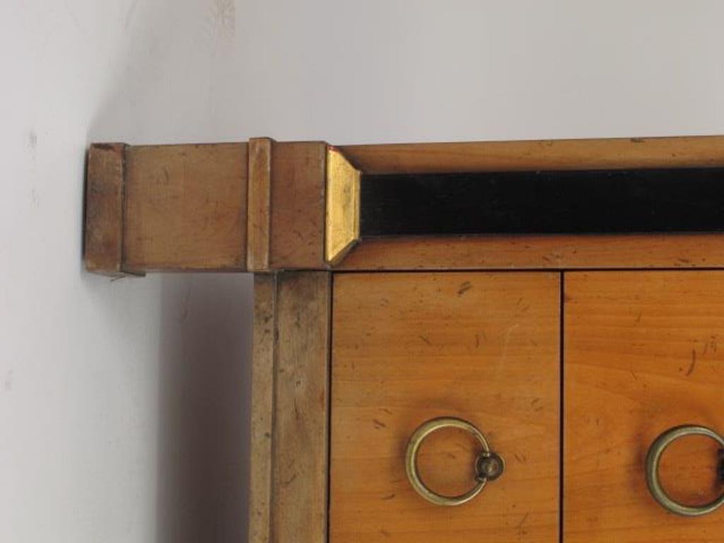 Empire Style Satin Mahogany Dresser - 5