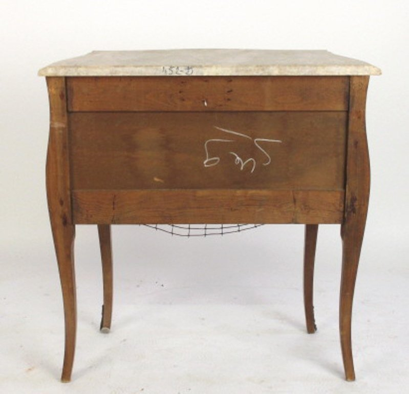 Bombe Chest with Marble Top - 6