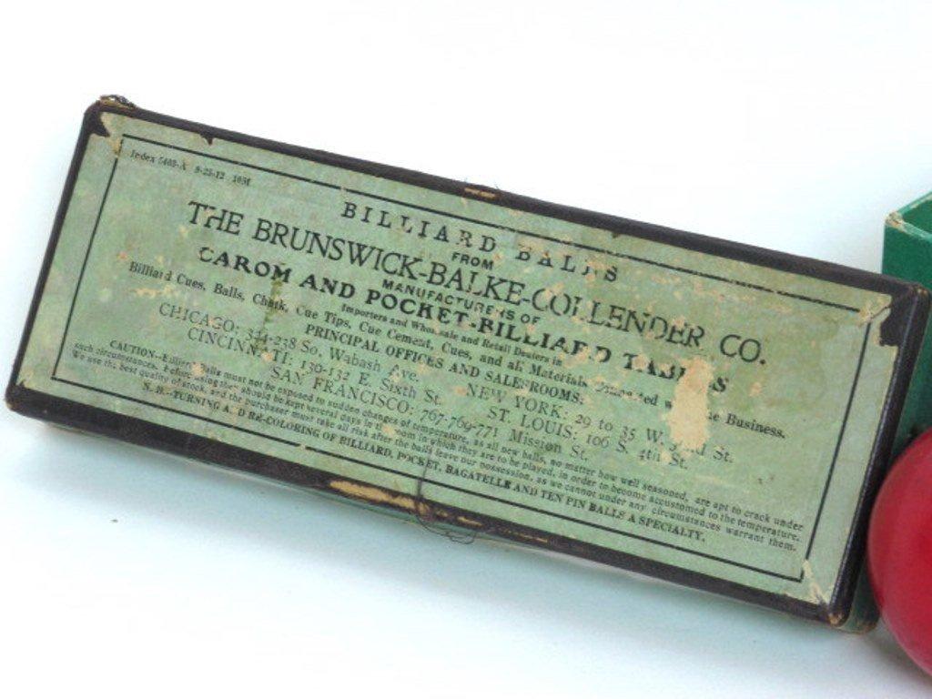 Two Vintage Billiard Balls - 2