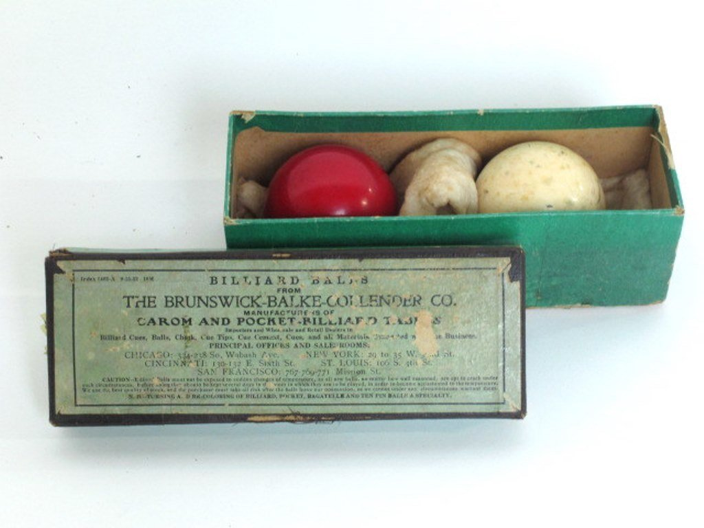 Two Vintage Billiard Balls - 4