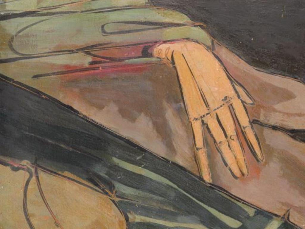 Abstract Portrait Religious Figure - 3