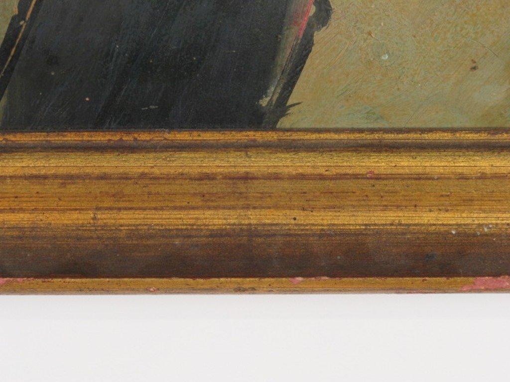 Abstract Portrait Religious Figure - 5