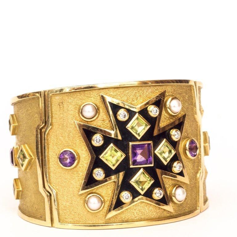 Verdura Maltese Cross Bracelet