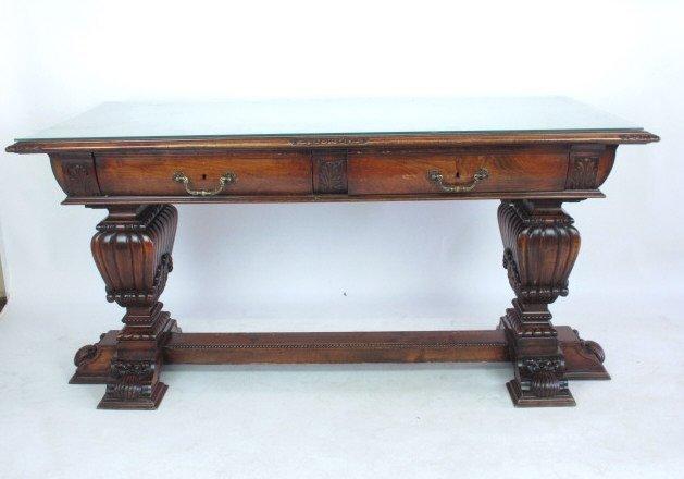 Mahogany Library Table