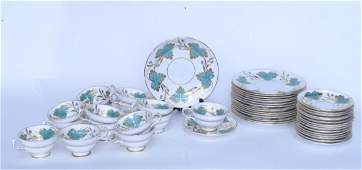 Copelands Grosvenor Porcelain Luncheon Service