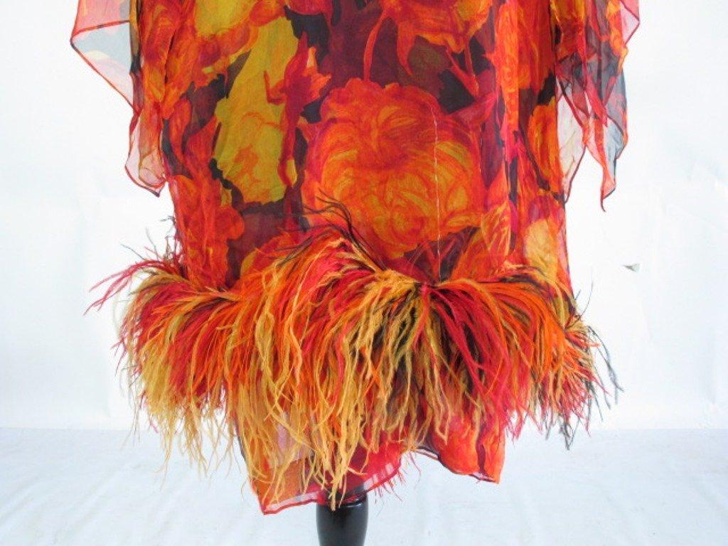 Bob Bugnand Chiffon Dress with Shawl Vintage Bob - 4