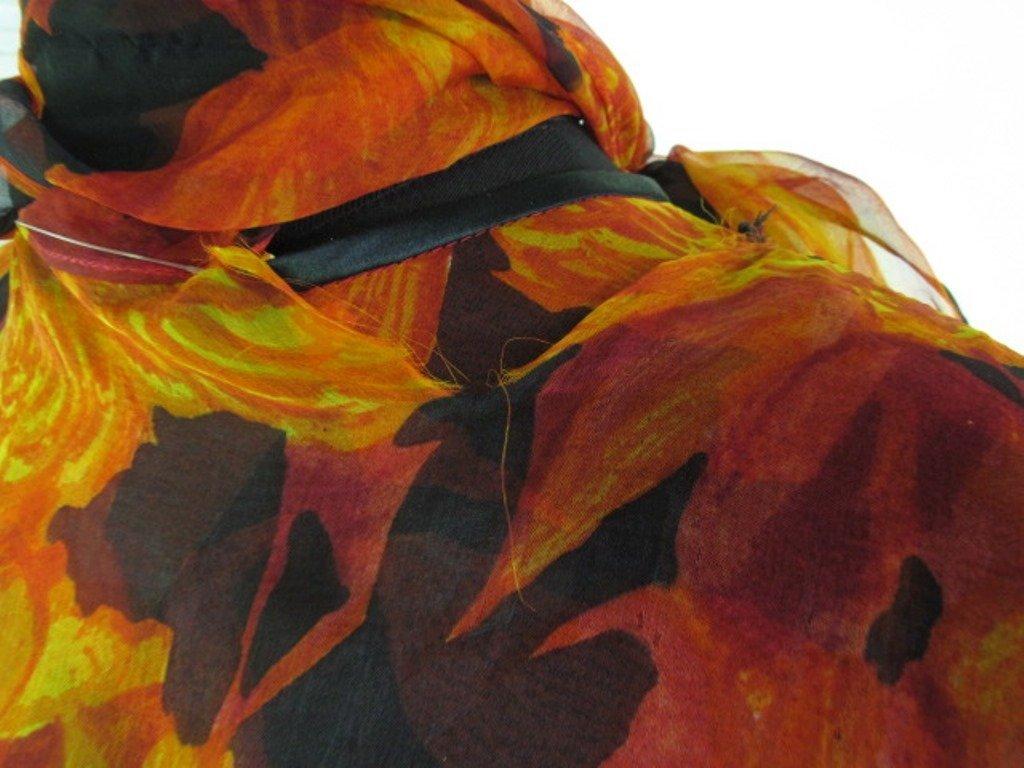 Bob Bugnand Chiffon Dress with Shawl Vintage Bob - 5